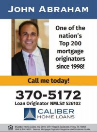 John Abraham of Caliber Home Loans